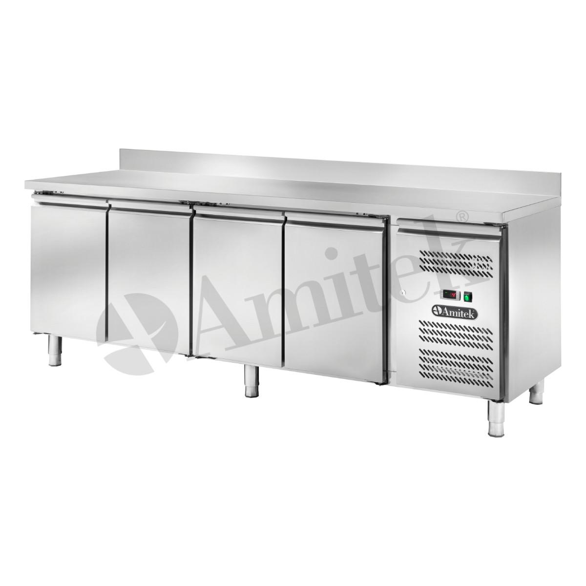 Banco refrigerato ventilato GN1/1 con alzatina AK4204TN ...